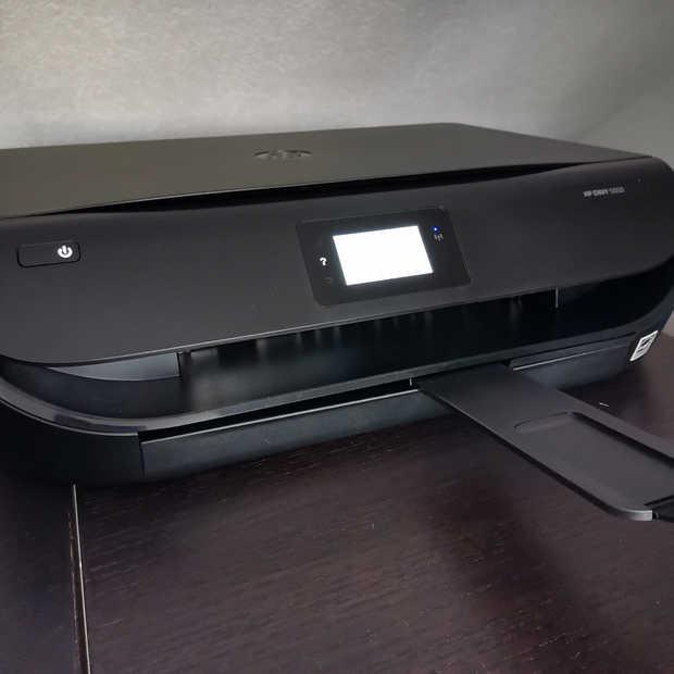 Handig voor thuis, een all-in-one printer die zelf nieuwe inkt regelt