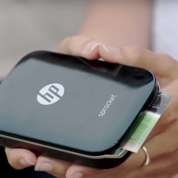 HP Sprocket, een fotoprinter op zakformaat