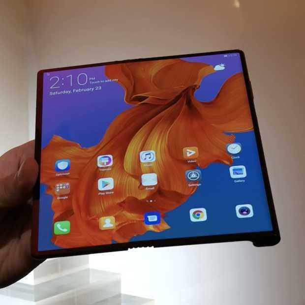 Debuut Huawei's vouwbare Mate X opnieuw uitgesteld