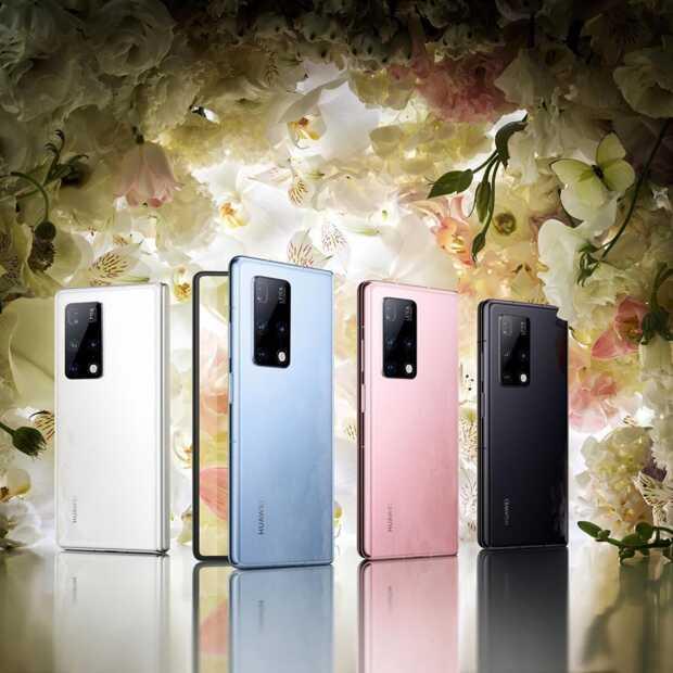 Huawei lanceert een nieuwe opvouwbare smartphone in China
