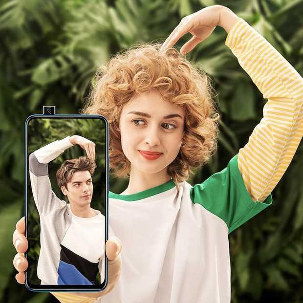 Huawei P Smart Z 2019 met een uitschuifbare camera
