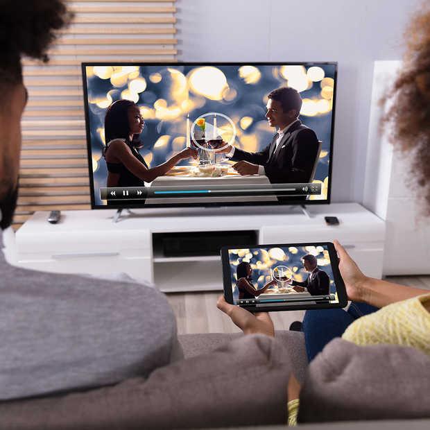 Huawei's eerste tv: een héle, héle grote smartphone