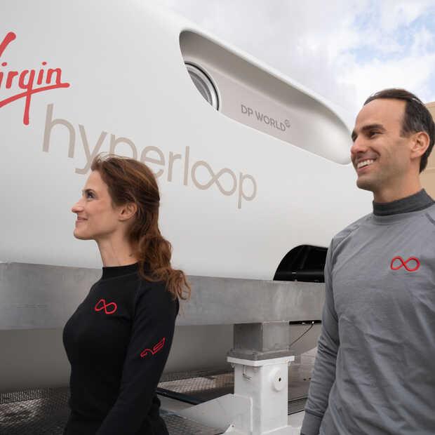 Virgin Hyperloop heeft voor het eerst passagiers vervoerd