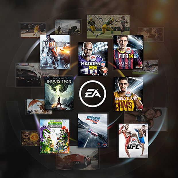 EA start abonnementsservice EA Access