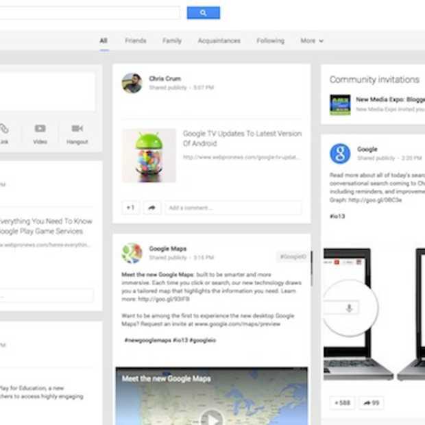 I/O: Google+ krijgt 41 nieuwe features