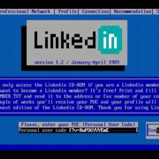 LinkedIn gets a 1980s makeover