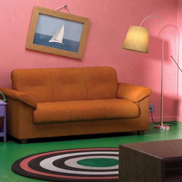 IKEA komt met woonkamers in de stijl van Friends, The Simpsons en Stranger Things