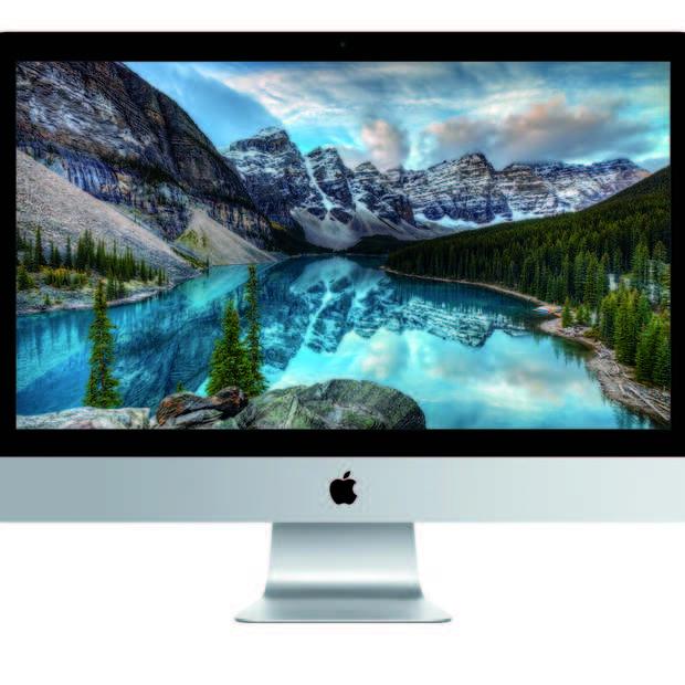 Dit zijn de nieuwe iMac's van 2015