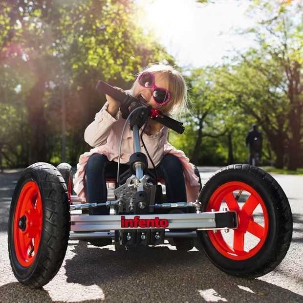 Infento: bouw een voertuig met je kind en zie ze daarna gaan