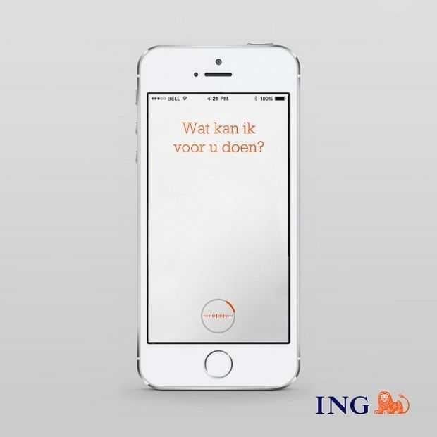 ING Mobiel Bankieren krijgt spraakherkenning en sprekerverificatie