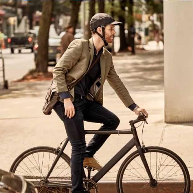 Deze inklapbare fietshelm  is een crowdfunding-succes (in de VS)