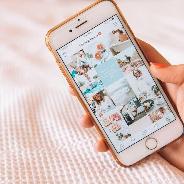Instagram test functie met 'favoriete vrienden'