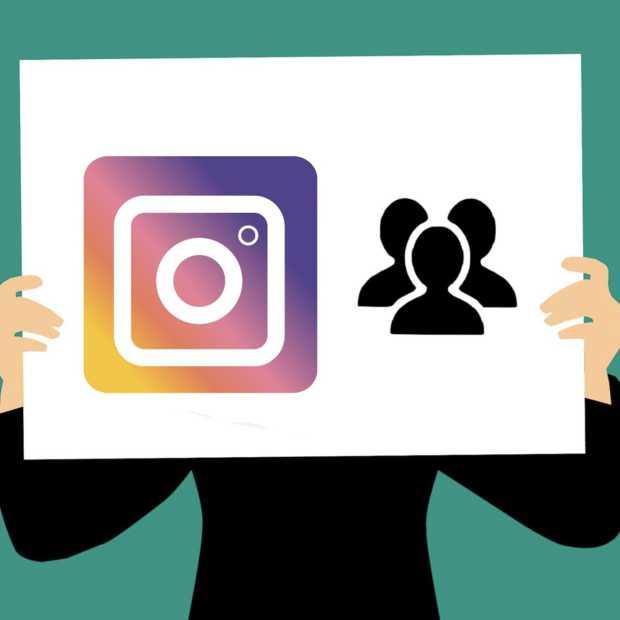 Geld ophalen voor het goede doel kan straks via Instagram