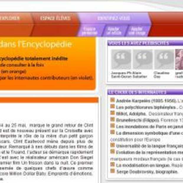 Interactieve online encyclopedie van Larousse