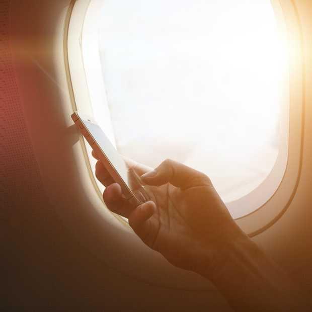4G-internet in het vliegtuig: T-Mobile werkt er hard aan