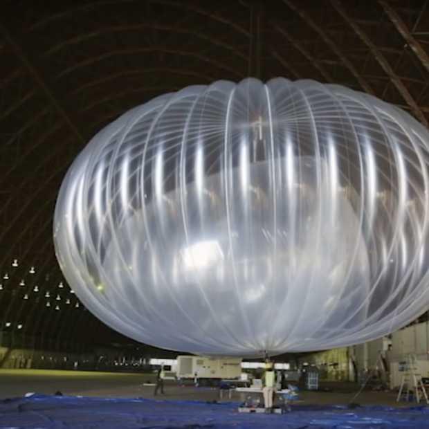 Internet via een luchtballon? Google's Project Loon maakt het mogelijk in Kenia