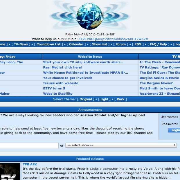 Internetproviders in de UK beginnen met blokkeren van EZTV