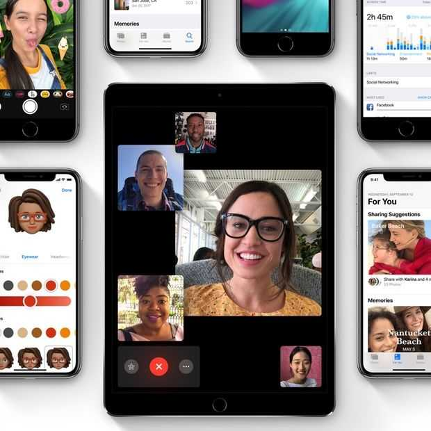 iOS 12 staat al op tien procent van Apple-apparaten