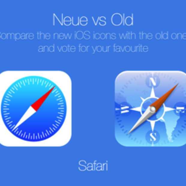 iOS 6 versus iOS 7: wat vind jij?