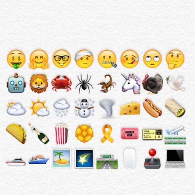 Meer dan 150 nieuwe emojis in iOS 9.1
