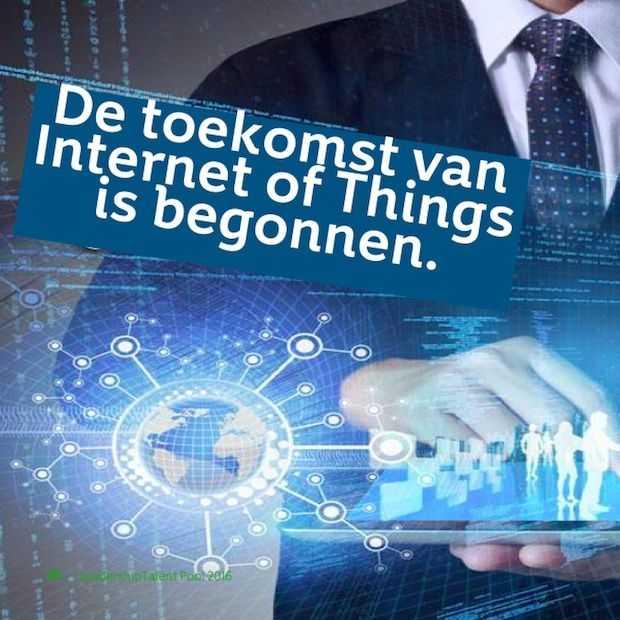KPN is gestart met de uitrol van een 'Internet of Things' netwerk