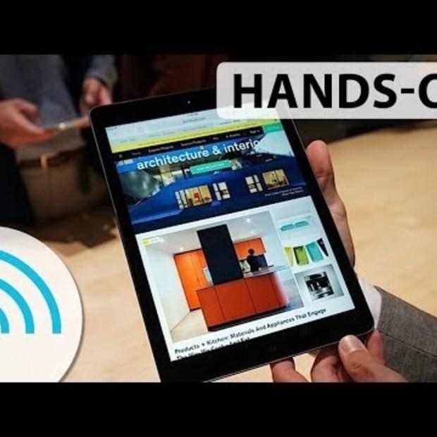 iPad Air hands-on van Engadget