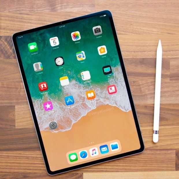 Nieuwe iPads krijgen ook Face ID, hebben geen homeknop meer