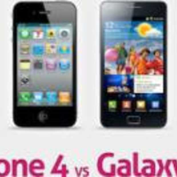 iPhone 4 vs Samsung Galaxy S2 [Infographic]