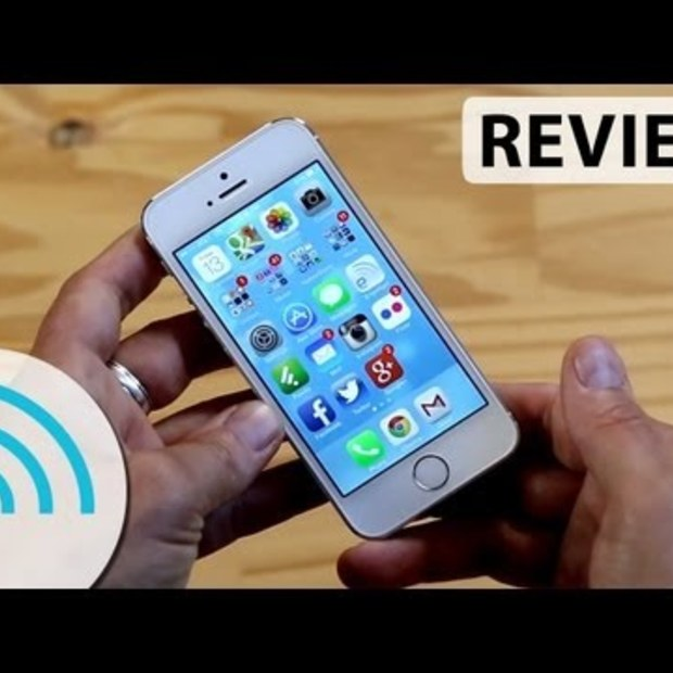 iPhone 5s review via Engadget #ios7