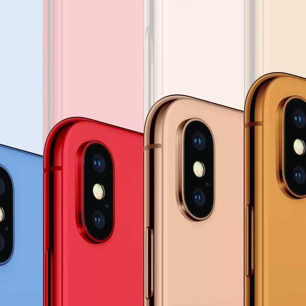 De nieuwe iPhones komen steeds scherper in beeld