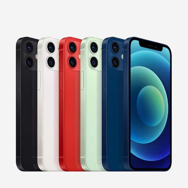 Heeft Apple de iPhone 12 mini al uit productie gehaald?