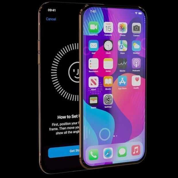 Dual screen iPhone slider ziet er strak uit, maar komt er niet