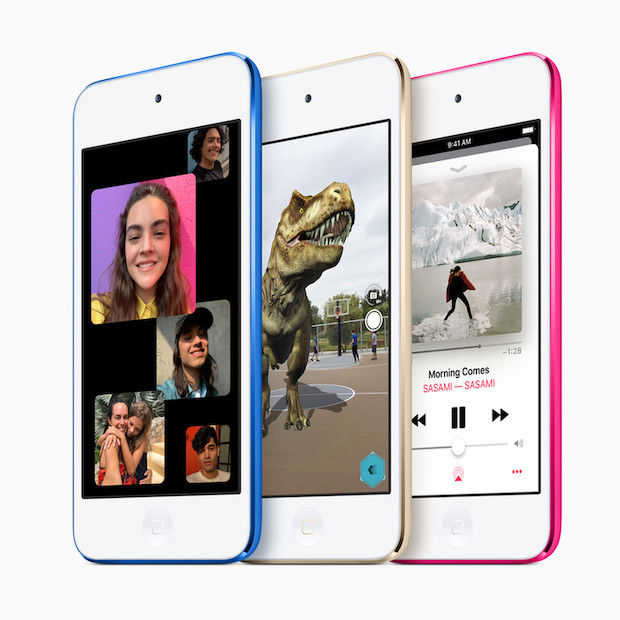 Apple geeft iPod Touch eerste update in vier jaar