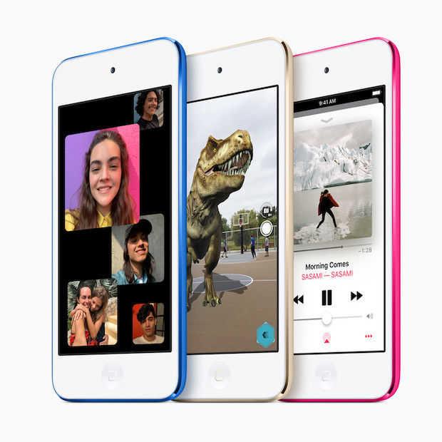 Apple geeft iPod Touch eerste update in vier jaar