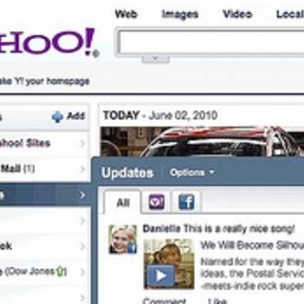 Is er een Facebook/Yahoo zoekmachine in de maak?