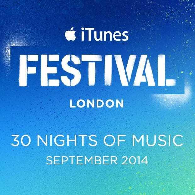 Het achtste jaarlijkse iTunes Festival in Londen