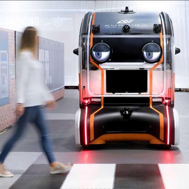 Jaguar Land Rover test 'ogen' op zelfrijdende auto's