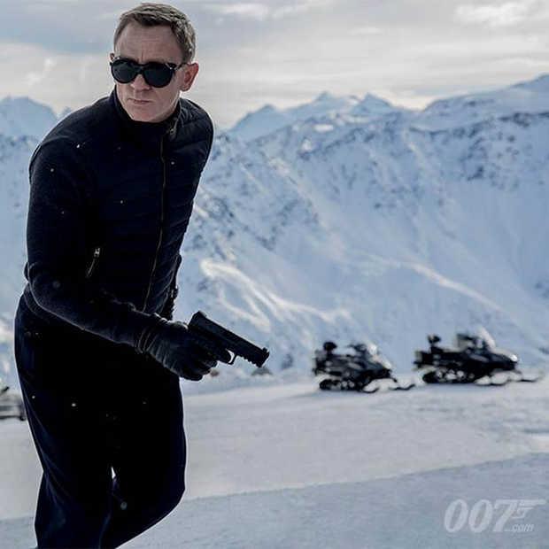 De eerste beelden van James Bond -  Spectre