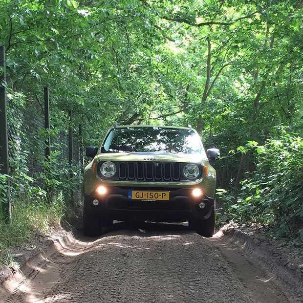 De ultieme Jeep ervaring op het Experience Island