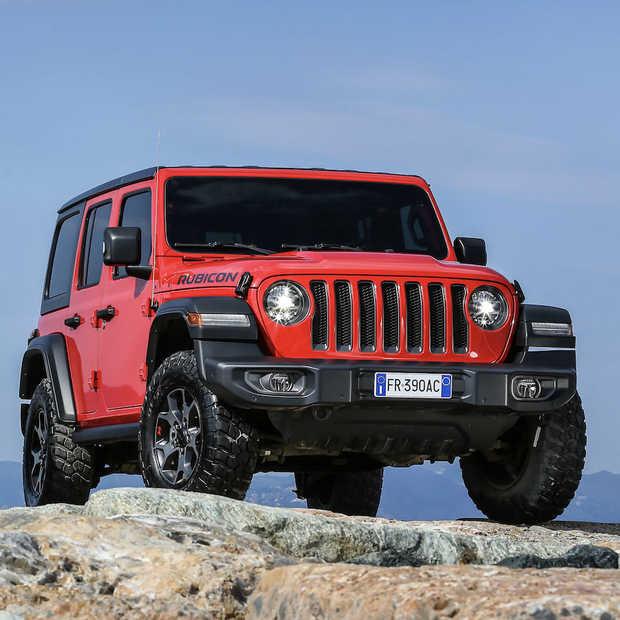 Nieuwe Jeep Wrangler de onbetwiste offroad-kampioen