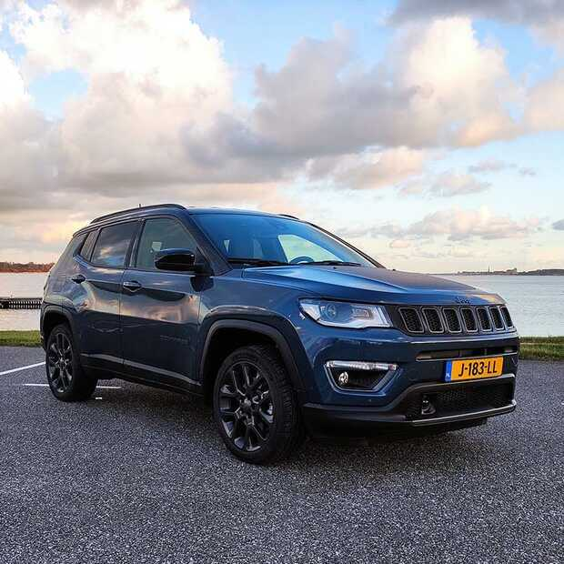 Jeep Compass 4xe Plug-in Hybrid in alles een echte Jeep