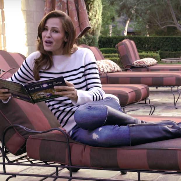"""Jennifer Garner leest voor uit """"Go the F**k to Sleep"""""""