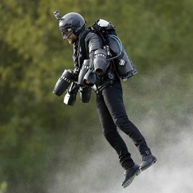 Met deze Jet-suit voel je je helemaal Iron Man