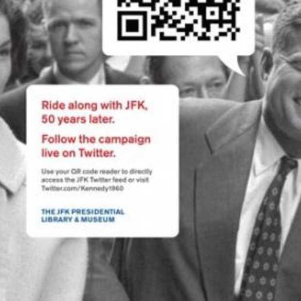 JFK speecht opnieuw live.. via Twitter