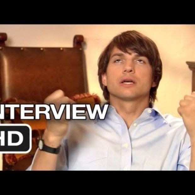 Interview met Ashton Kutcher over de film Jobs