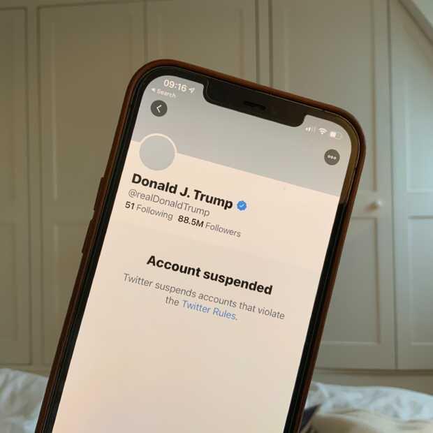 Twitter wil ook geen retweets van Trump