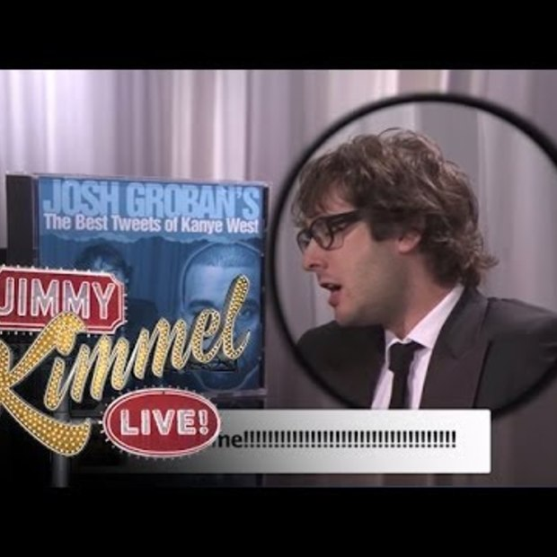 Josh Groban Sings Kanye West Tweets