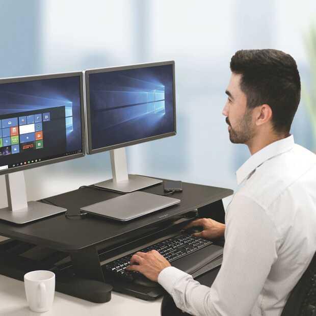Persoonlijke ergonomische werkplek inrichten