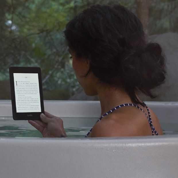 De nieuwe Amazon Kindle Paperwhite is eindelijk waterproof