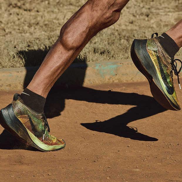 Nike Flyprint: 3D print techniek en materiaal voor hardloopschoenen